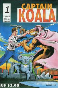 Cover of Captain Koala issue 1 - Introducing Captain Koala