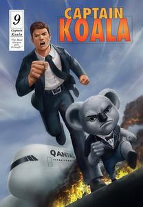 Cover of Captain Koala issue 9 - The mail always gets through